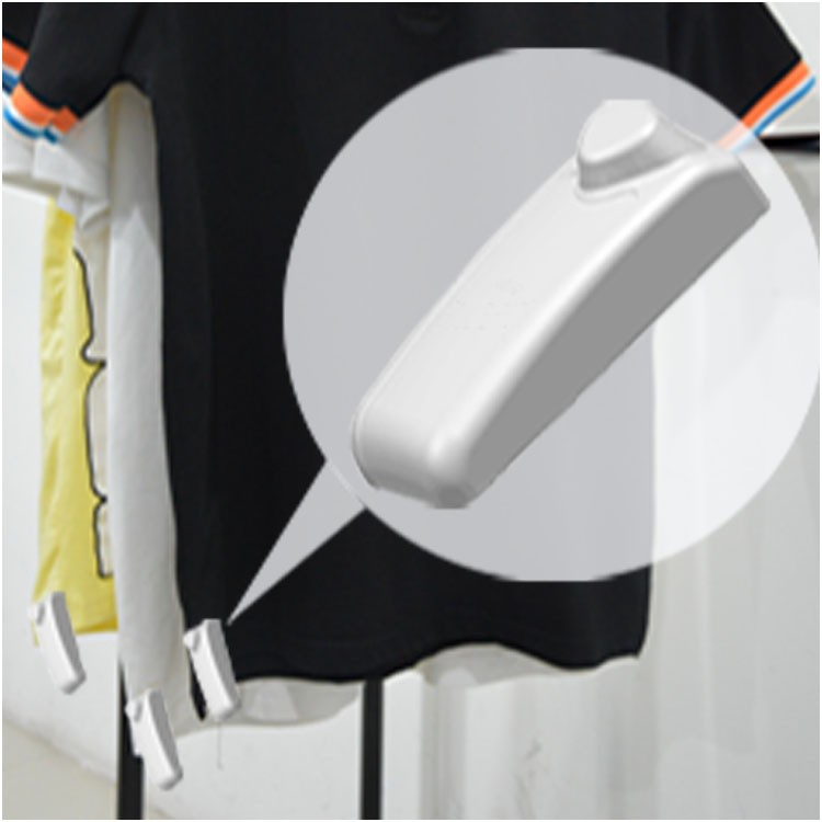 2018 New UHF RFID+EAS security tag anti-theft clothing tags