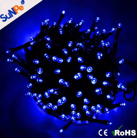 200LEDs street garden outdoor decorative light diwali solar micro led string lights for christmas wedding