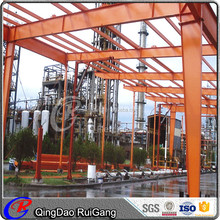 Qingdao Shandong China Workshop Warehouse Garage Prefabricated Steel Structre Building Design from Factory