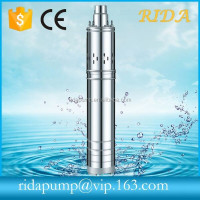 RIDA deep well water pump qgd 3 inch deep well submersible pumps 220 volt