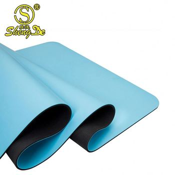 2017 new product eco-friendly natural rubber yoga mat