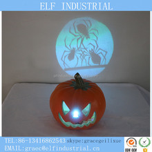 Our company want distributor led flashing decorations cheap price halloween plastic pumpkin with battery