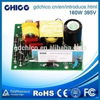 160W 395V switching power supply,led driver single output with PFC function CC160EJA-395
