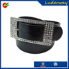 High Quality female rhinestone chastity belt with flat buckle in yiwu supplier