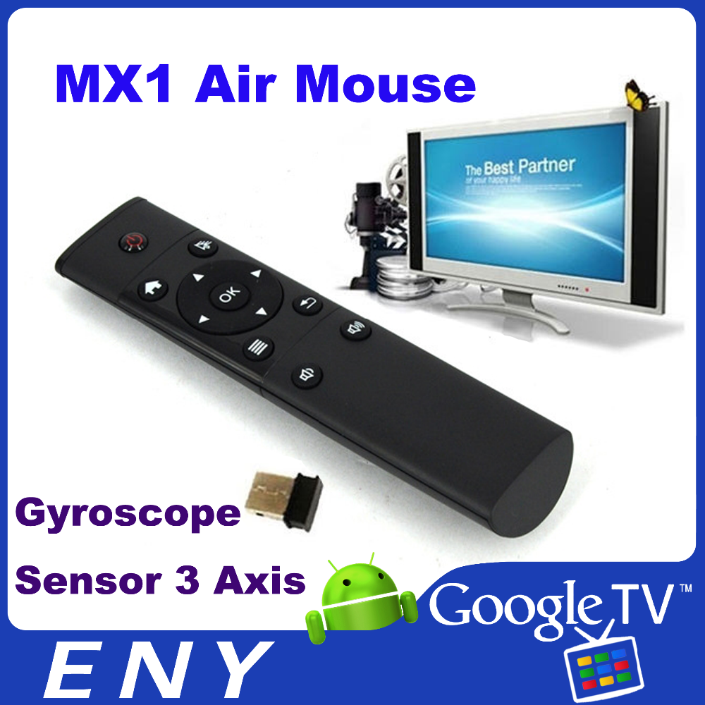 2.4G Wireless Gyroscope air mouse Mini keyboard for smart tv