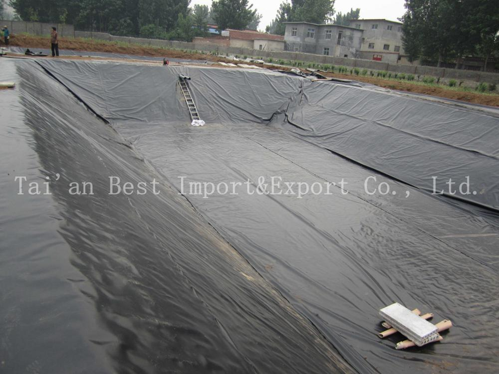 50m-100m Length and HDPE Material geomembrane tank liner