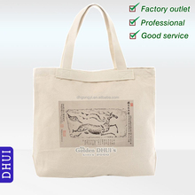 wholesale good quality silk screen printing customized canvas bag,custom unisex raw white shopping bag