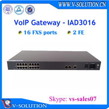 china supplier 16*fxs voip gateway rj45 to rj11 voip ata gateway