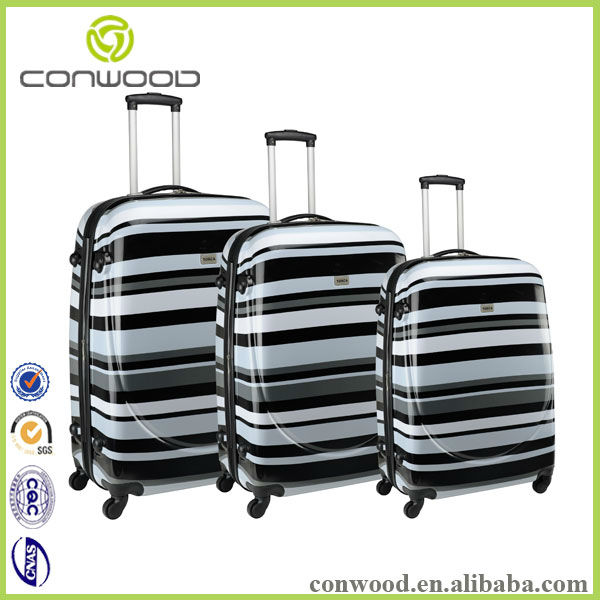 Stylish men travel bags with 4 spinner luggage