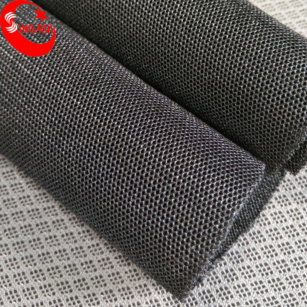 China Supplier Polyester Sports Shoe Material Dri Fit Mesh Fabric