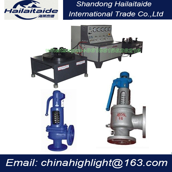 Excellent Quality tester calibration for Safety Valve