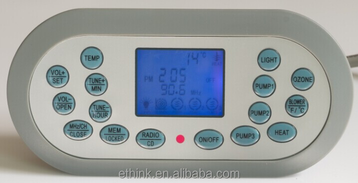 Jaccuzi spa controller touch pad--KL8-2