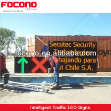 LED programmable sign number safety display board