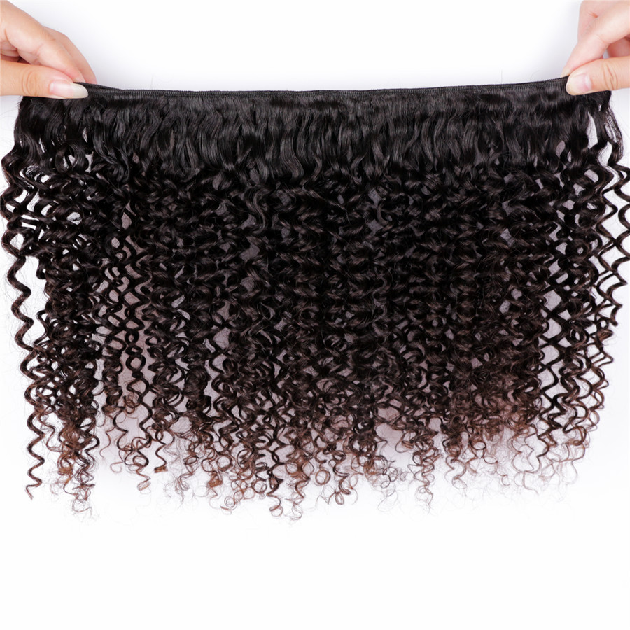 8 Inch Cheap Wholesale Top Quality Virgin Jerry Curl Weave Extensions Human Hair Weave