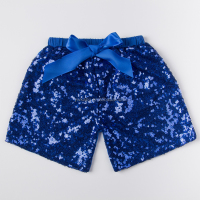 Hot selling sequin shorts the children of girl in the transparent shorts