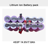 Original imported 18650 battery cell customized li-ion battery packs 7800mAh 14.8V rechargeable lithium ion battery