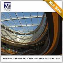 Factory Price Building Laminated Glass Used Commercial Glass Roof