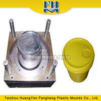 10 litre plastic paint bucket mould China mould manufacturer