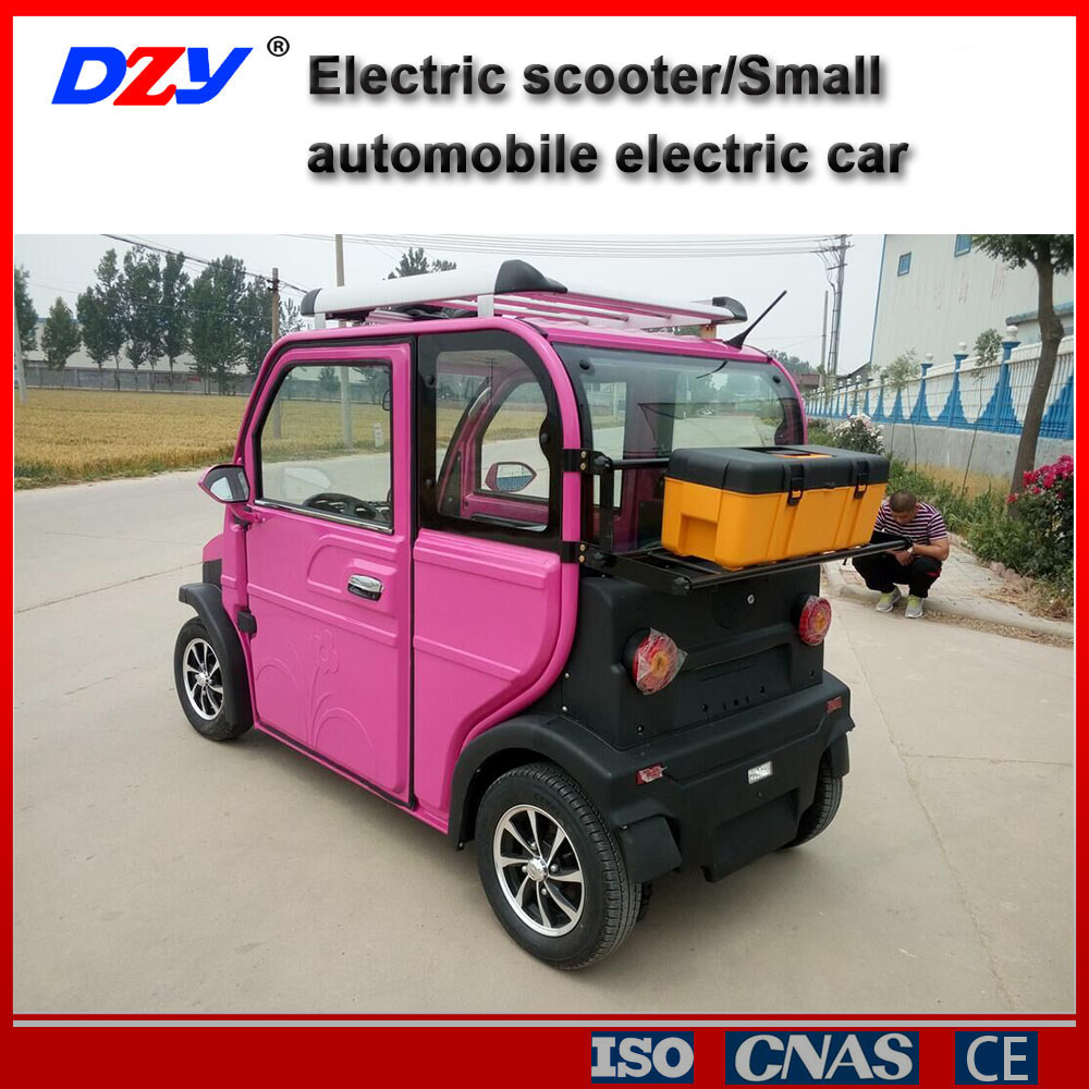 4 wheels 4 seaters smart mini electric car