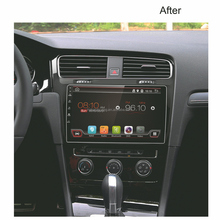 10.1 inch volkswagen golf 7 car dvd player gps with Support Mobile Phone Network for GSP