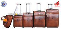 trolley case four wheel shopping trolley bag metal suitcase with wheels standard size luggage