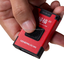 CMOS 2D mini cordless/wireless bluetooth barcode reader for iOS, Andriod, mobile data collection