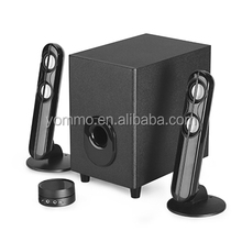 Yommo fashion 2.1 home theater surround sound audio speaker system bass speaker for TV