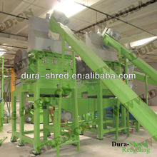 FAG bearing old tyre shredding recycling machine for sale