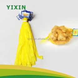 Food grade ginger PE mesh bag wholesale price