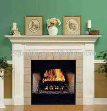 high quality carving european/ victorian /cultured marble fireplace