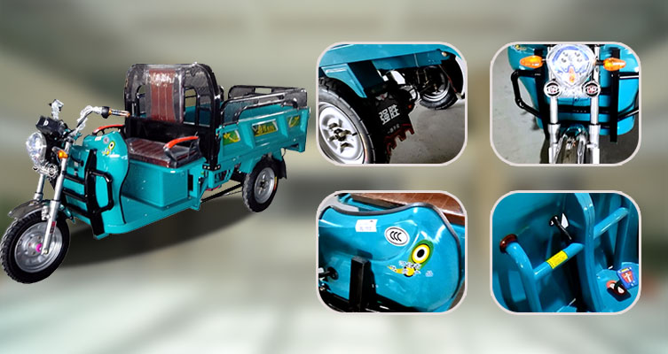 Electric auto loader rickshaw price from China