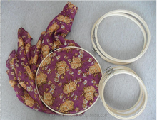 Hot Sell 3''-12'' Bamboo Embroidery Hoops