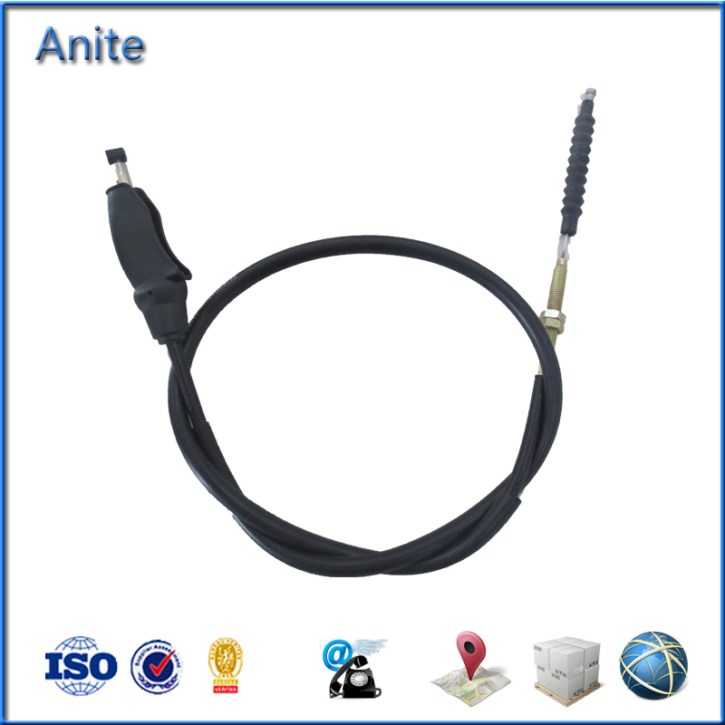 Customize High Quality Haojue Clutch Cable Motorcycle Cable Parts