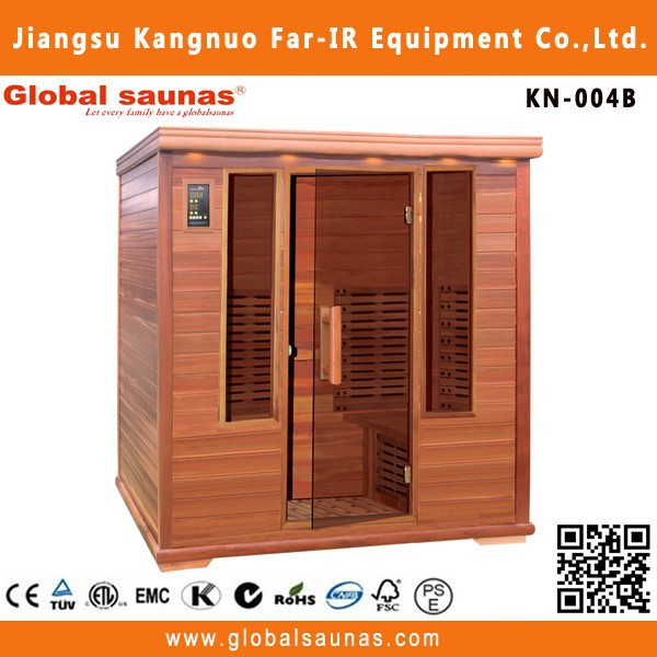 4 person red cedar infrarood sauna house for sale