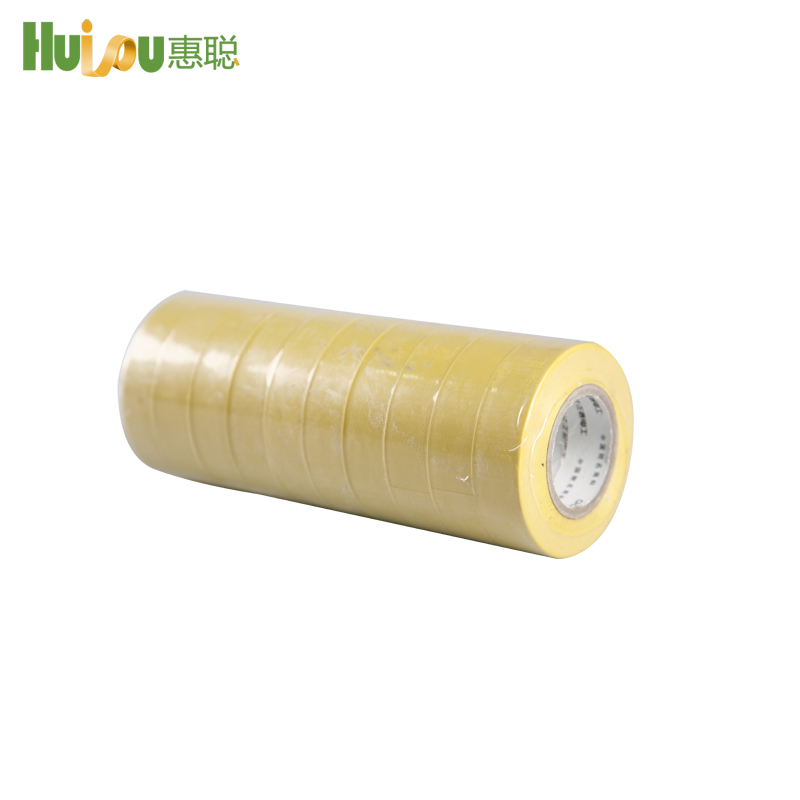 good Adhesion High Tensile Elongation PVC Electrical Insulation tape
