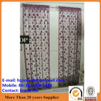 single color string flower curtains