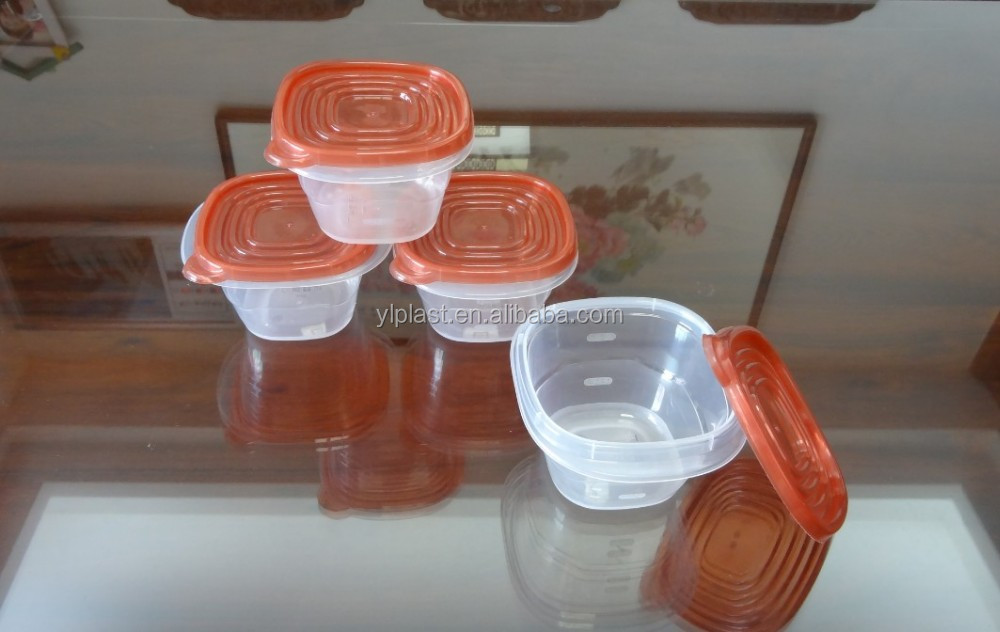 Good selling plastic food storage container 500ml