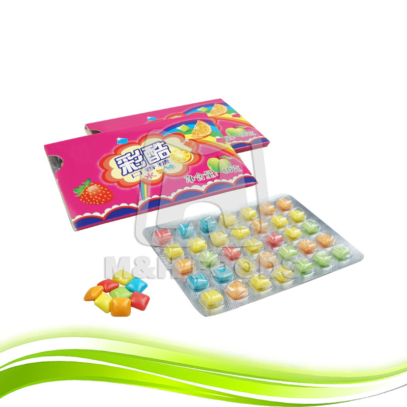 Chinese Supplier Colorful Fruit Flavor Chewing Gum
