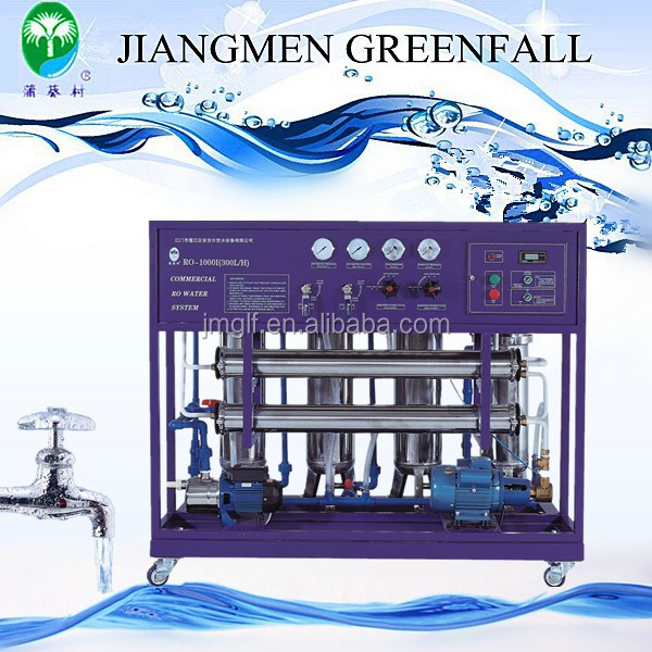 GREENFALL factory direct ro water filter carbonated water making machine