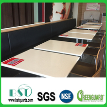 Prefabricated Solid Surface Quartz Countertop,Quartz Table Top