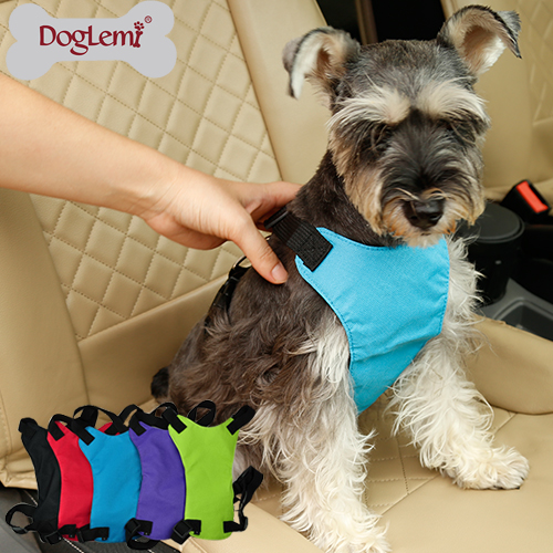Pet Vehicle Safety Harness dog harness pattern