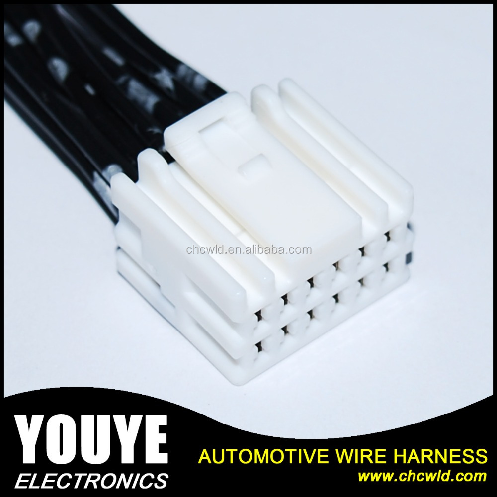 12 Pin Wiring Harness Connectors Plug Example Electrical Car Pins Connector Wire Buy Auto Mobile Automotive