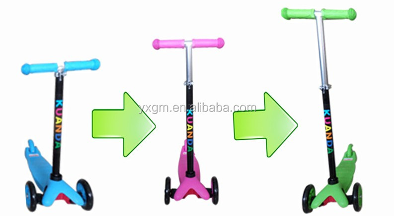 2016 new design high quality mini children kick scooter