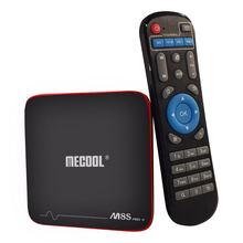 Digital satellite receiver m8s pro w iptv box media Google TV Player video ott smart android tv box