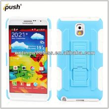 robot combo case for note3 pc silicon for samsung galaxy note3