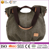 cheap wholesale canvas bag canvas messenger cross body shoulder bag oem production canvas tote bag