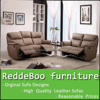 reclining chair with footrest, 1+2+3 recliner sofa, England style recliner sofa set