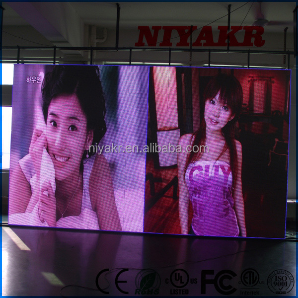 Niyakr Sexi Video P10 Panel Led Display,Indoor P10 Flexible Full Color Big Led Screen Xxx