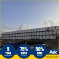 Ark Top Quality Good Price 3 Story Long Lifespan Flatpack Prefabricated Steel Mining Field Mobile Camps