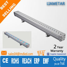 Factory Promotion 1 M Aluminum 50000H Lifespan IP65 30w led in ground wall washer lighting